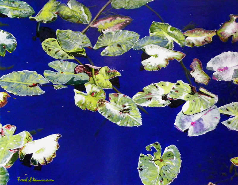October Lilly Pads 800